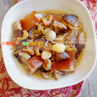 KHAU YUK / TWICE-COOKED PORK BELLY