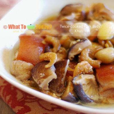 KHAU YUK / TWICE-COOKED PORK BELLY