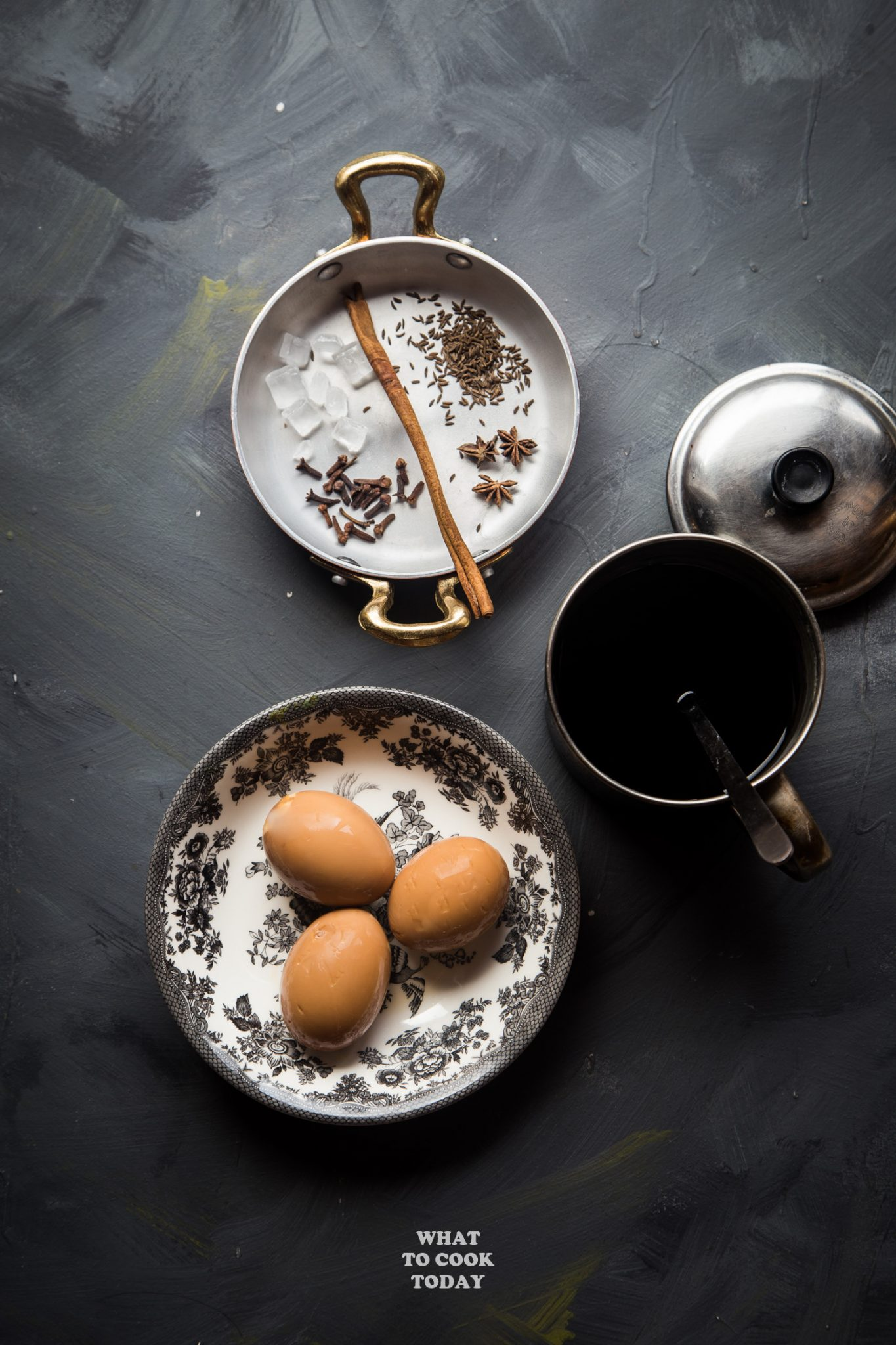 Spiced boiled eggs (Telur Kecap) #boiledeggs #eggs #recipe