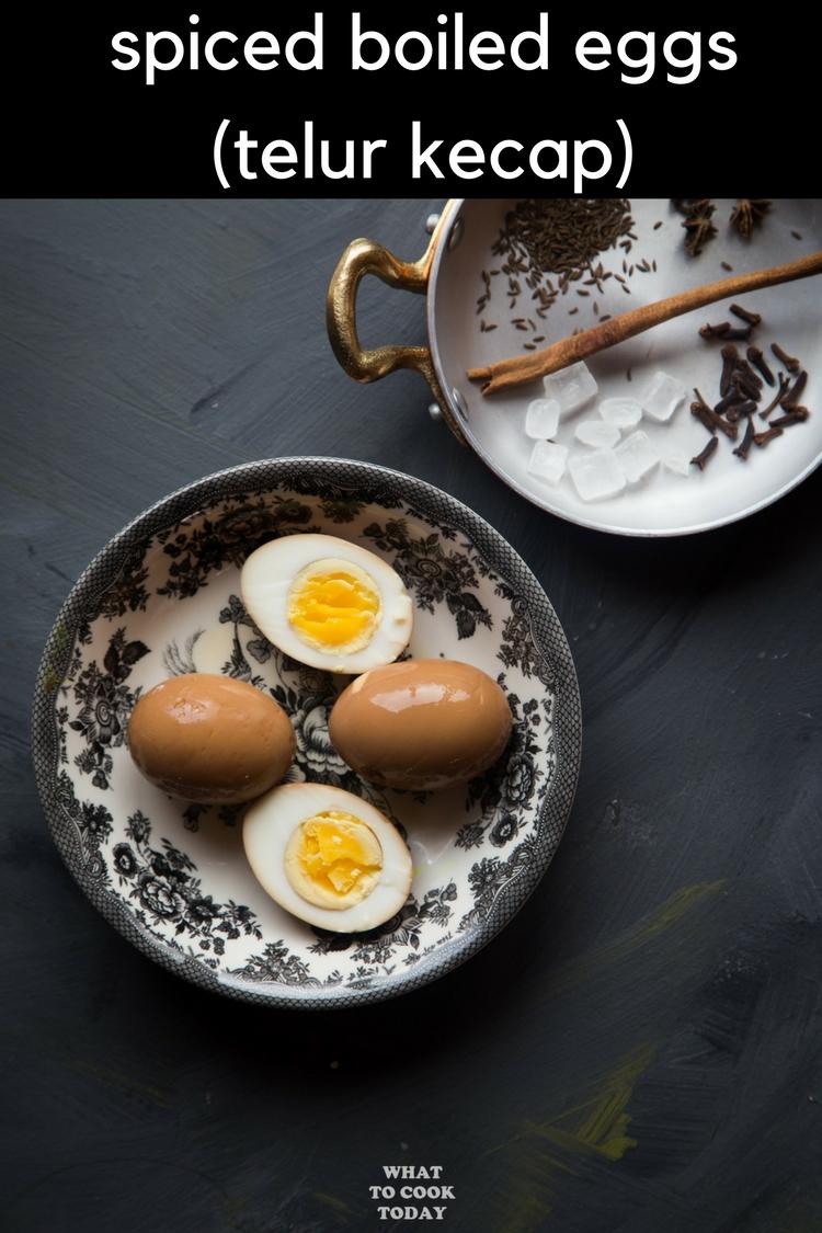 spiced boiled eggs