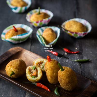 Kroket Kentang / Indonesian Potato Croquette