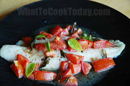Roasted Swai Fish