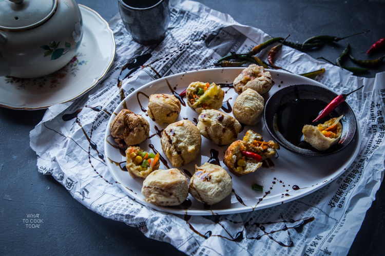 What To Cook Today: Indonesian stuffed tofu (Tahu isi)