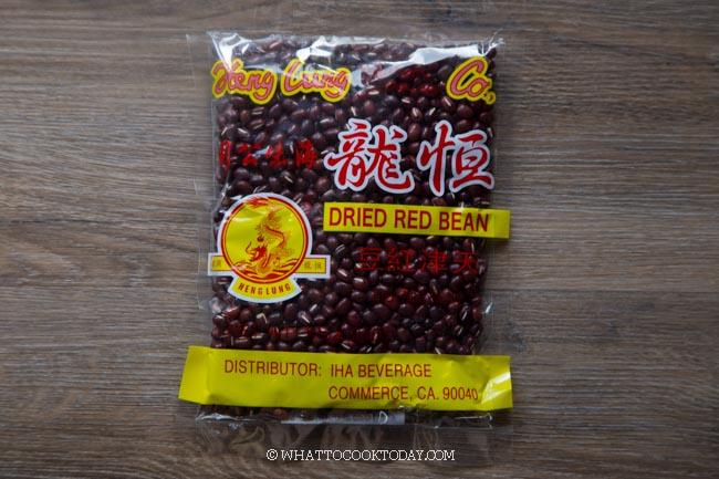 Dried red beans (Azuki beans)