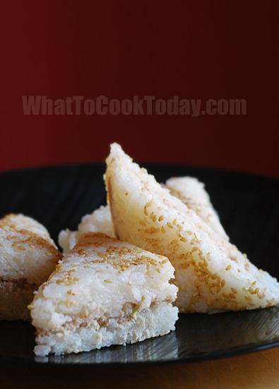 Pressed rice cakes