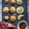 Yin Yang Vegetable dumplings