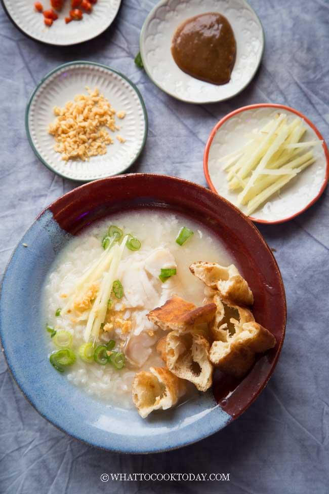 Easy Chinese Fish Congee (Bubur Ikan)