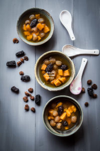 Chinese Sweet Potato Ginger Soup