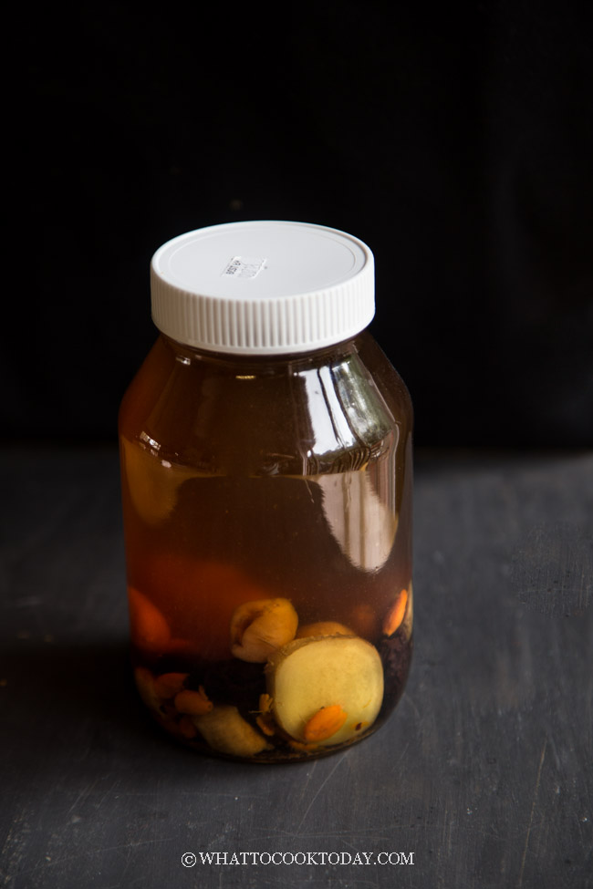 Dang Shen Tea (with Black Dates, Ginger, Longan, Goji Berry)