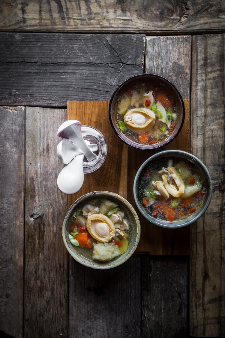 Abalone and Fish Maw Soup
