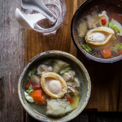 Abalone and Fish Maw Soup