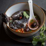 Chinese Herbal Silkie Chicken (Black Bone Chicken) Soup