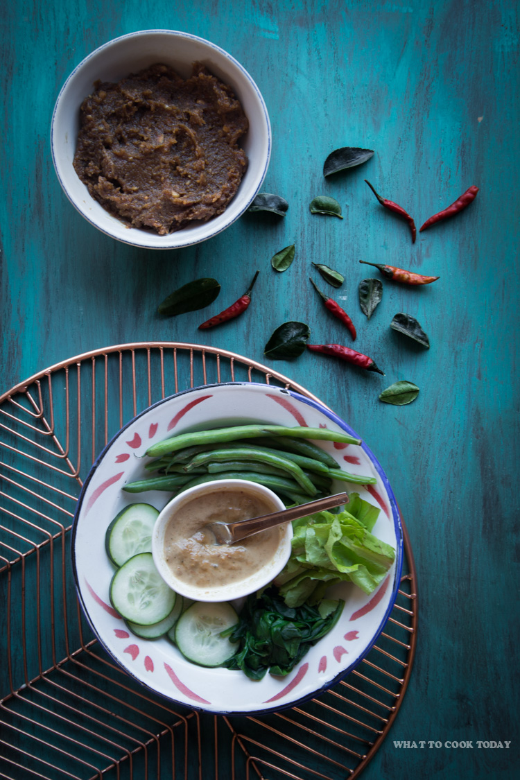 How to make Pecel (Indonesian peanut sauce for salad). Delicious Pecel (Indonesian peanut sauce for salad) recipe. Click through for full recipe and step by step instructions