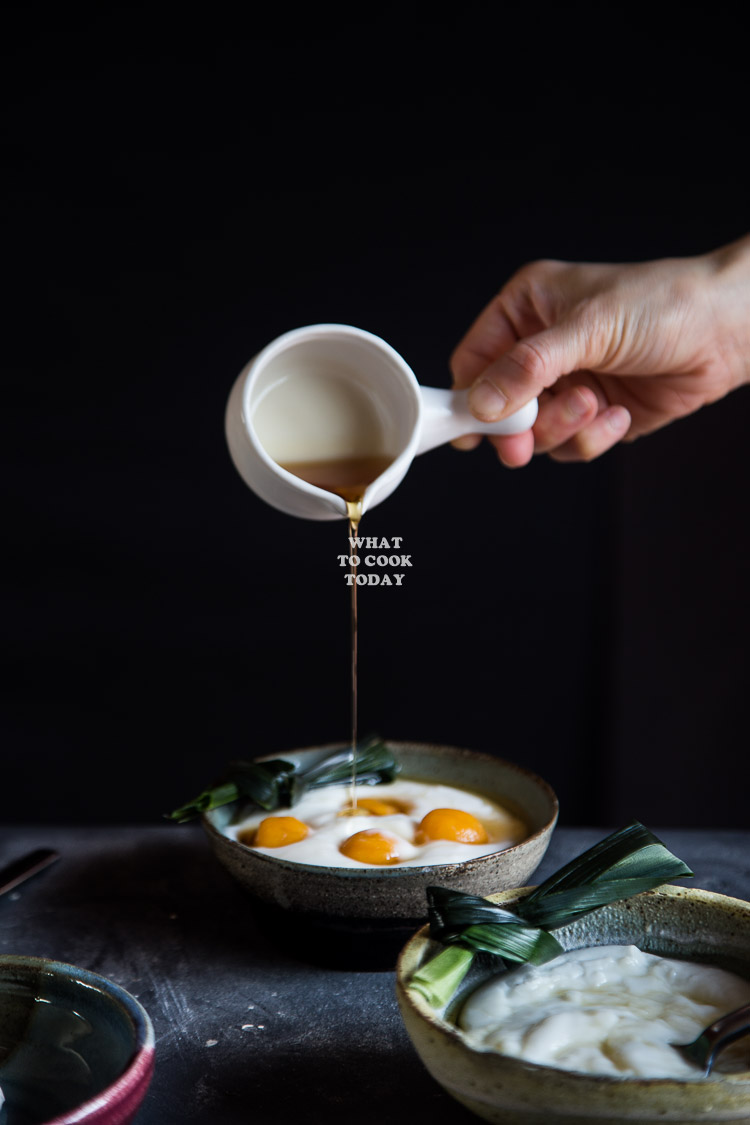 Bubur Sum sum / Indonesian Sweet Coconut Rice Porridge