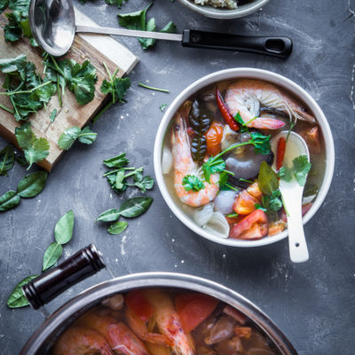 Easy Thai Tom Yum Goong
