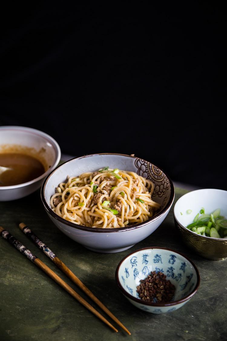 Dan Dan Mian (Spicy Szechuan Noodles)