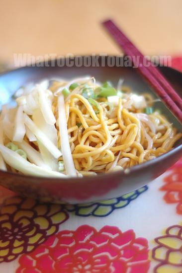 Cold noodles/Wanfujing leng mian