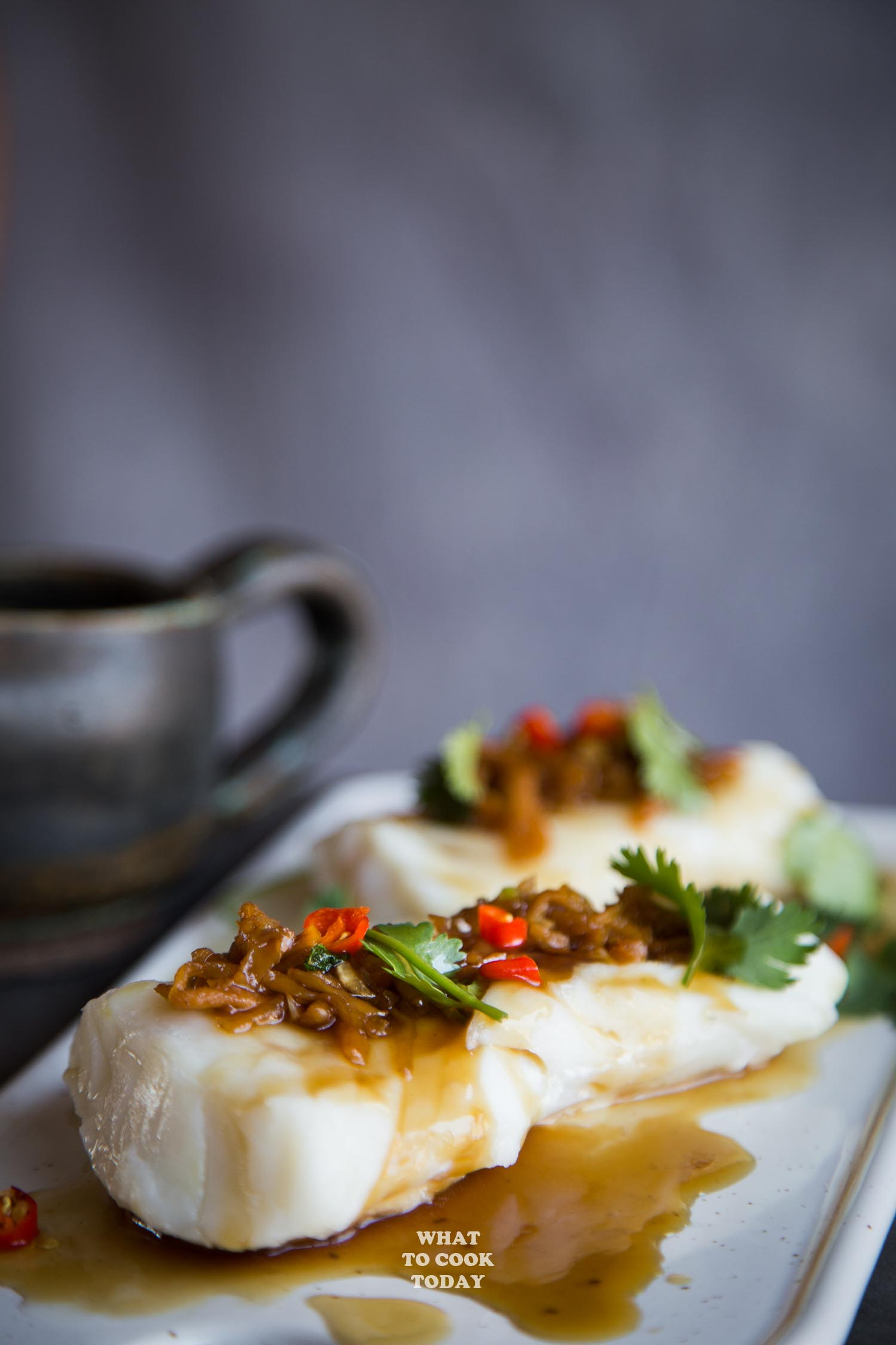Steamed Fish with Chopped Chili and Preserved Radish/ Chai Poh