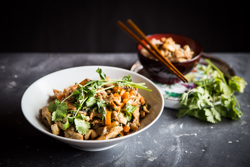 How to make Stir-fried Pork with Fresh Coriander. Delicious Easy Stir-fried Pork with Fresh Coriander recipe. Perfect for weeknight meals. Click through for full recipe and step by step instructions