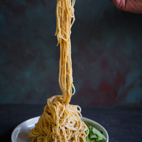 Easy Taiwanese Cold Noodles (Liang Mian)