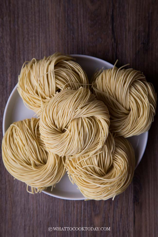 Chinese dried wheat noodles
