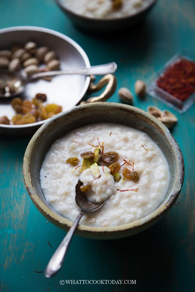 How To Make Rice Kheer Pudding (Instant Pot, Rice Cooker, Stove-top)
