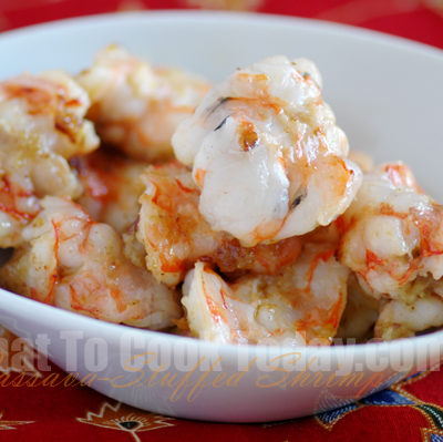 CASSAVA-STUFFED SHRIMP