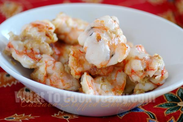 Cassava-Stuffed Shrimp
