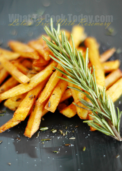 LOLA FRIES WITH ROSEMARY