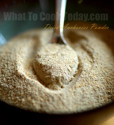 FEED MY BABY: DRIED ANCHOVIES POWDER