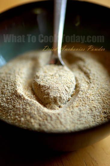 DRIED ANCHOVIES POWDER