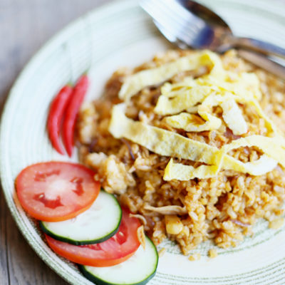 INDONESIAN-STYLE FRIED RICE/ NASI GORENG INDONESIA