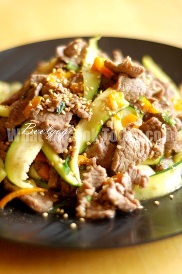 SEASONED SLICED BEEF/BOOLGOGI
