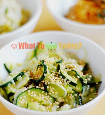 SEASONED ZUCCHINI/HOBAK NAMOOL