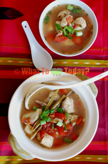 SAMLA' METCHOU PENG PA/KHMER FISH STEW WITH LEMONGRASS