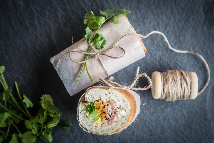 Vietnamese Banh Mi Dac Biet