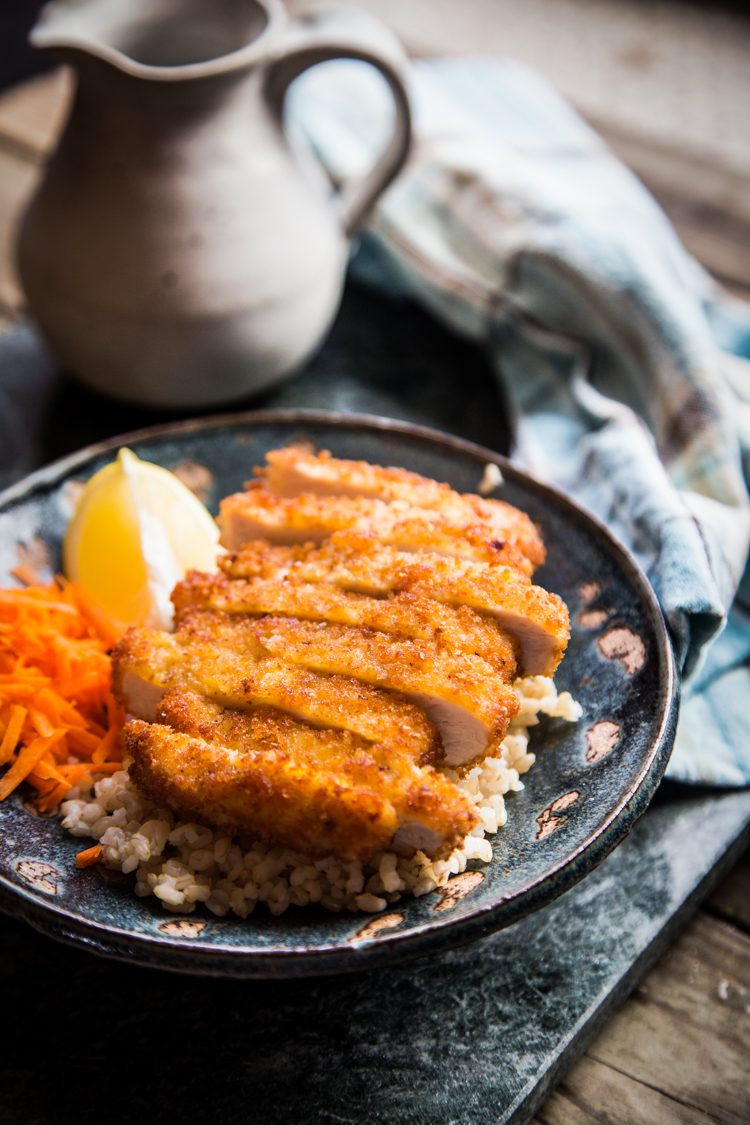 Tonkatsu (Japanese fried pork cutlet)
