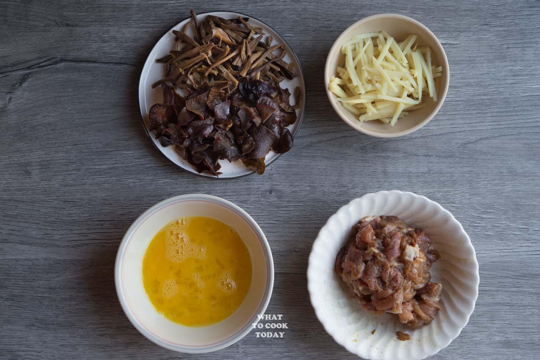 One-Pan Moo Shoo Pork (Mu Xu Pork)