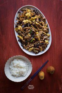 One-Pan Moo Shoo Pork (Mu Xu Rou)