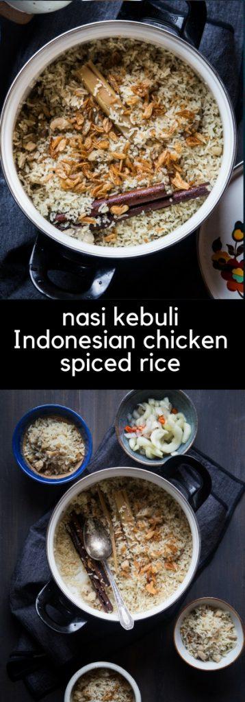 Nasi Kebuli Ayam / Indonesian Chicken Spiced Rice
