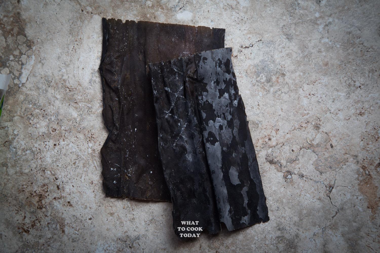 Japanese dried kombu