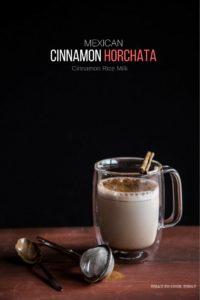 Cinnamon Horchata (Cinnamon Rice Milk)