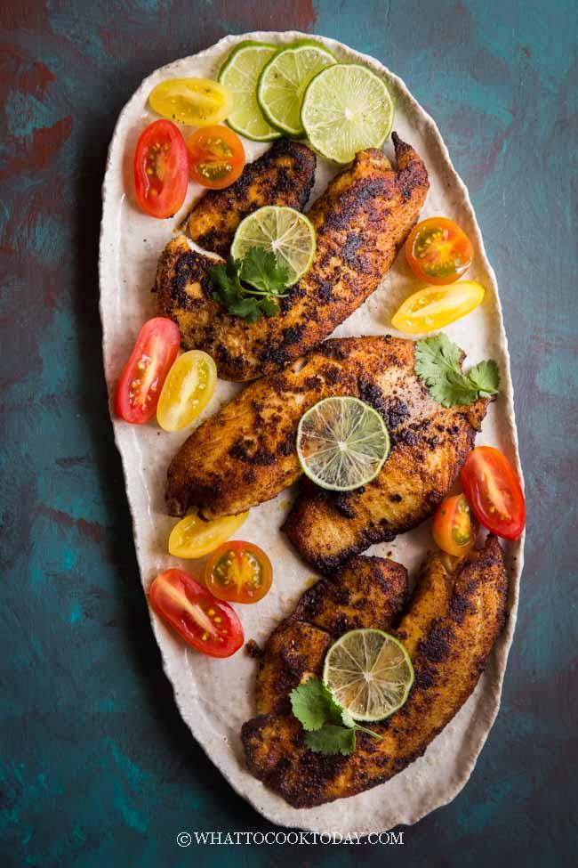 Cajun Grilled Fish (Blackened Seasoning)