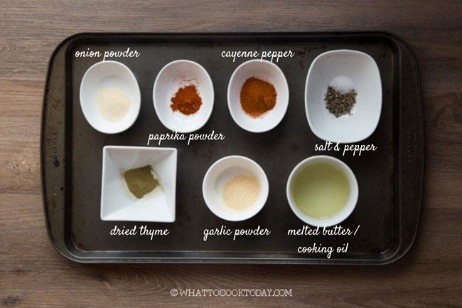 Homemade Cajun Seasonings