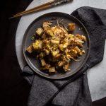 Stir-fried carrot cake / Lobak goreng telur / Chai tow kway