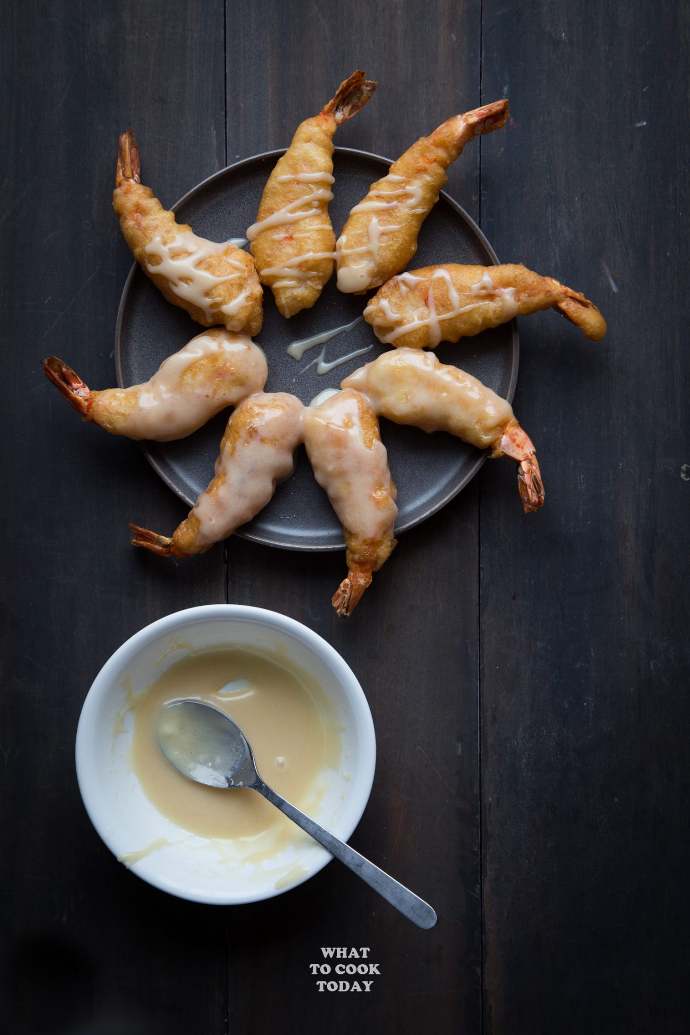 Leng Hong Kien (Mayonaise Udang / Sweet Mayonnaise Shrimp)#lenghongkien #prawn #shrimp #mayonnaise #appetizer