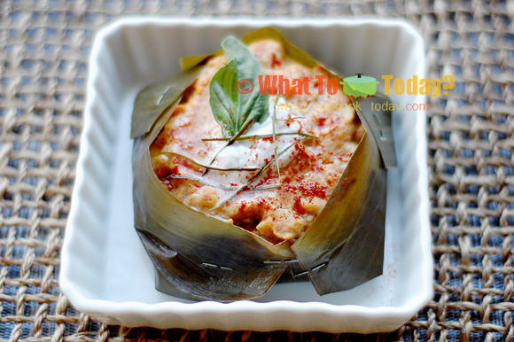 THAI STEAMED FISH CAKE/ HA MOK PLA