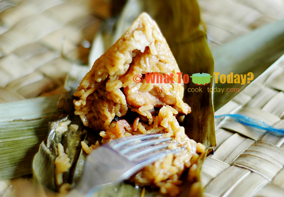 RICE CONES/ ZONG ZI (USING JASMINE RICE)