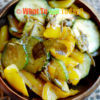 STIR-FRIED ZUCCHINI WITH PEPPERS AND CURRY LEAVES