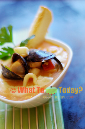SEAFOOD FRICASSEE